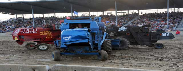 Combine Demolition Derby, Saturday, August 3, 7:00 pm
