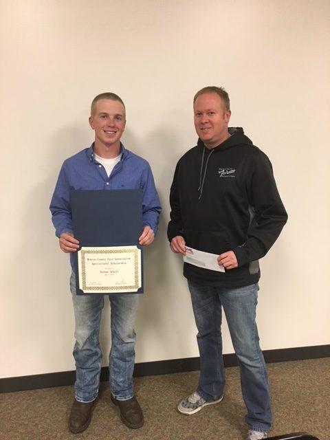 2018 Monroe County Fair Agricultural Scholarship Application